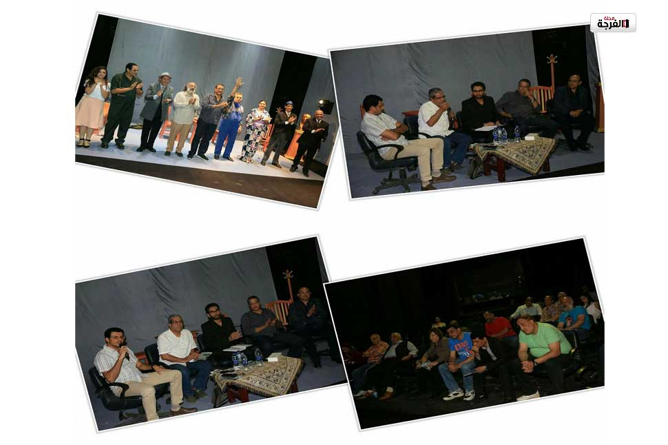 """الخولي خلال ندوة""""الساعة الأخيرة"""":عودة مسابقة التأليف المسرحي للمركز القومي للمسرح/ أحمد جميل"""