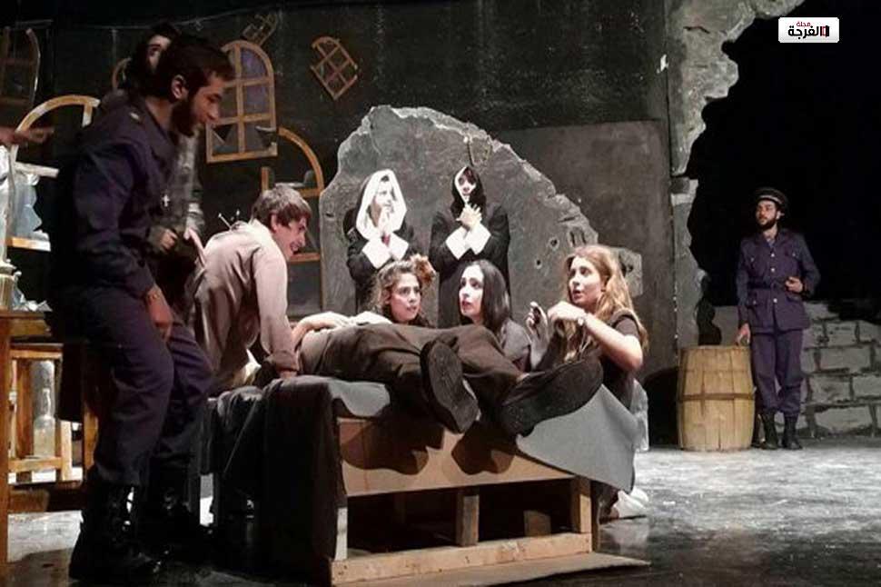 نابولي مدينة مفتوحة.. عرض تخرج لطلاب المعهد العالي للفنون المسرحية/ سانا